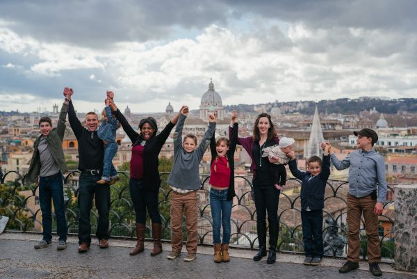 bambini tour roma